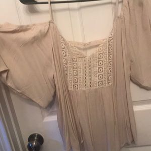 NWT MAURICES Cold shoulder blouse